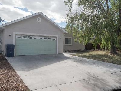 Fernley Single Family Home For Sale: 242 Mary Lou