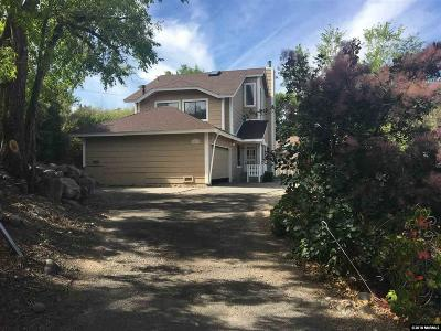 Reno Single Family Home For Sale: 1151 Fairbanks Ct.
