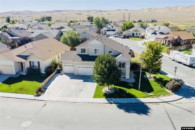 Fernley Single Family Home For Sale: 2019 Rawles Drive