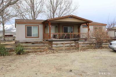 Winnemucca Manufactured Home For Sale: 3395 Mountain View Dr. #1