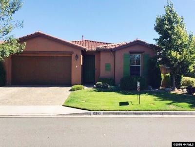 Reno Single Family Home New: 13810 Seabiscuit