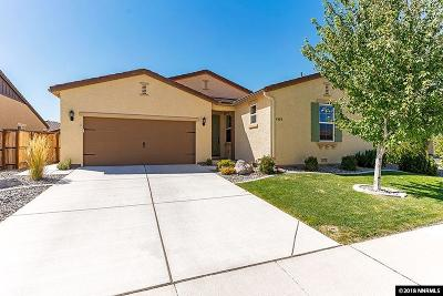 Sparks NV Single Family Home Sold: $410,000