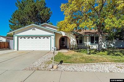 Carson City Single Family Home For Sale: 1406 Shady Oak Drive