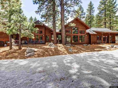 Reno Single Family Home New: 16555 Evergreen Hills Drive