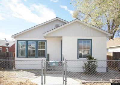Sparks Single Family Home Active/Pending-Loan: 1815 C St
