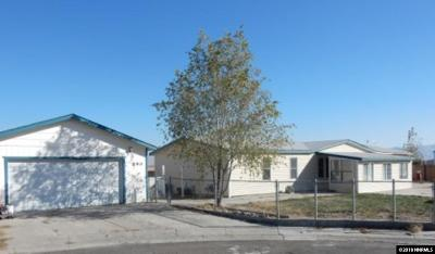 Battle Mountain Manufactured Home Back On Market: 690 Maple Court