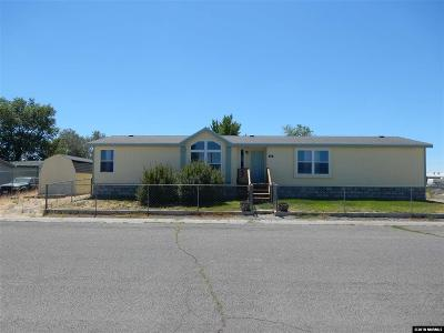 Battle Mountain Manufactured Home For Sale: 400 W Antelope Drive