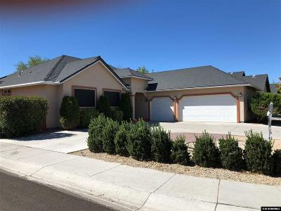 Fernley Single Family Home For Sale: 825 Divot