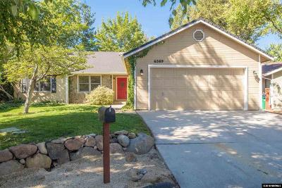 Reno Single Family Home For Sale: 6369 Meadow Crest