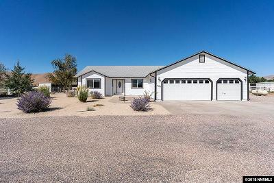 Reno Single Family Home For Sale: 10475 Osage Rd.