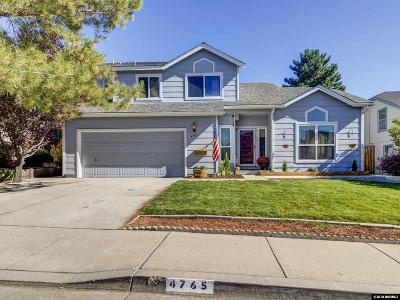 Reno Single Family Home For Sale: 4765 Amber Hill