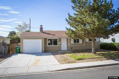 Sparks Single Family Home New: 1425 Zephyr