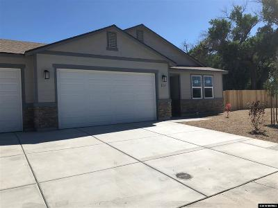 Fernley Single Family Home For Sale: 711 White Eagle Lane