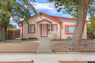 Sparks Single Family Home Active/Pending-Loan: 1634 H Street