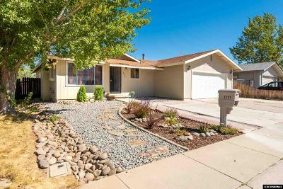 Carson City Single Family Home New: 3321 Vista Grande