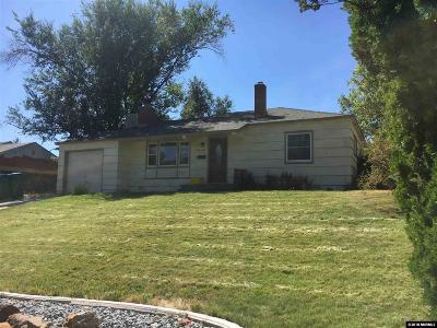 Reno Single Family Home For Sale: 2005 Keystone Avenue