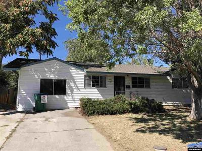 Reno Single Family Home New: 1275 Manhattan