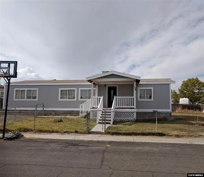 Battle Mountain Manufactured Home For Sale: 104 Congress
