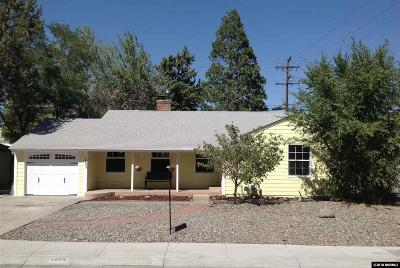 Reno Single Family Home New: 1465 Westfield Ave