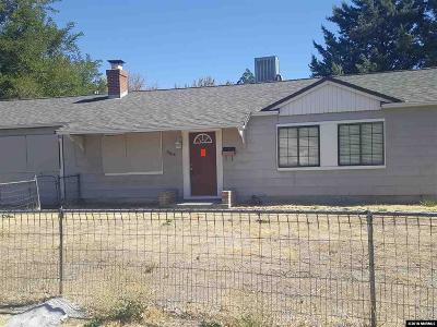 Sparks Single Family Home Active/Pending-Short Sale: 1302 4th