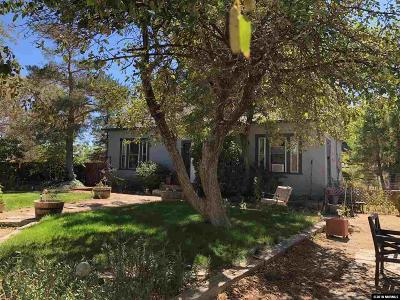 Washoe Valley NV Single Family Home Active/Pending-Loan: $275,000
