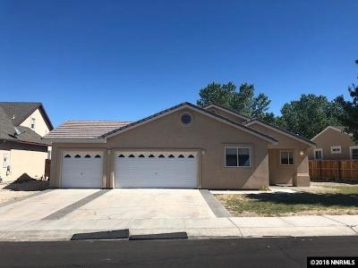 Fernley Single Family Home New: 718 Divot Drive