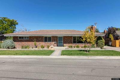 Washoe County Single Family Home New: 1445 Monroe
