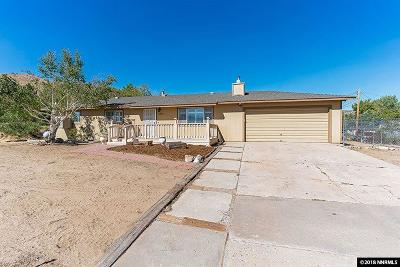 Reno Single Family Home For Sale: 11835 Overland Road