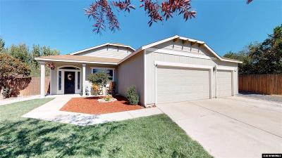 Fernley Single Family Home Active/Pending-Loan: 1461 Green River Lane