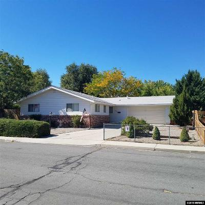 Carson City Single Family Home New: 3016 Baker Drive