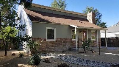 Washoe County Single Family Home New: 812 Gear Street