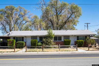 Washoe County Multi Family Home New: 2045 H Street