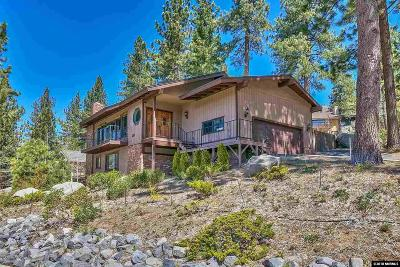 Zephyr Cove Single Family Home New: 210 Cedar Ridge
