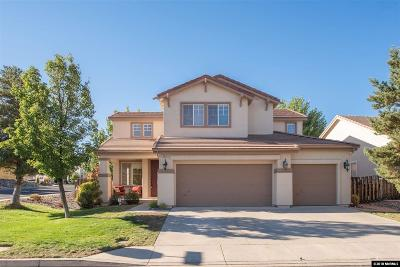 Reno Single Family Home New: 2800 Sage Ridge Drive