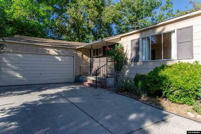 Reno Single Family Home New: 975 Munley
