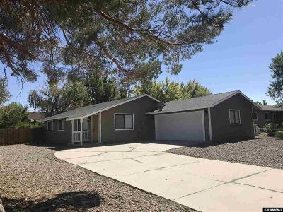 Gardnerville Single Family Home Active/Pending-Loan: 743 Lyell