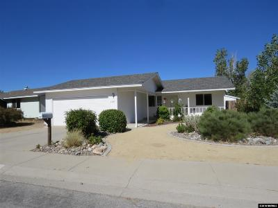 Carson City Single Family Home New: 3327 Somerset Way