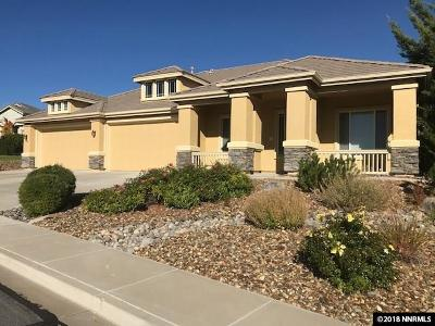 Washoe County Single Family Home New: 7808 Bareback