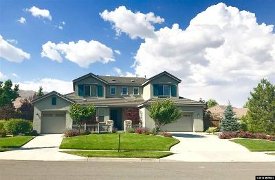 Washoe County Single Family Home New: 8175 Willow Ranch Trail