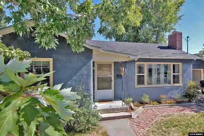 Reno Single Family Home New: 1420 Keystone Ave