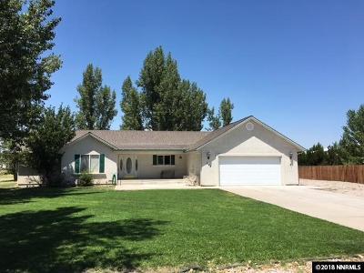 Fallon Single Family Home New: 596 Sunrise Terrace