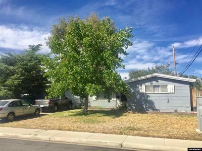 Reno, Sparks, Carson City, Gardnerville Single Family Home New: 1106 Prospect Ave