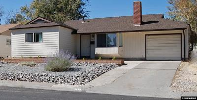 Reno Single Family Home New: 745 Ruby Avenue