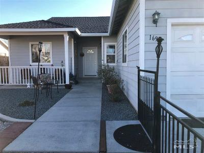 Carson City Single Family Home For Sale: 1695 Rankin