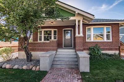 Reno Single Family Home New: 537 Sinclair