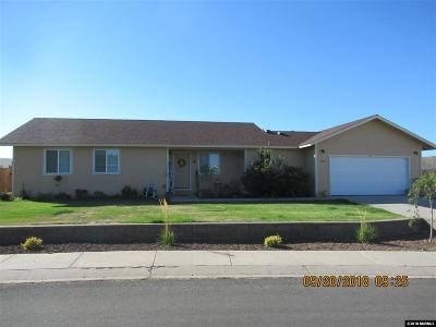 Gardnerville Single Family Home For Sale: 1397 Patricia Drive