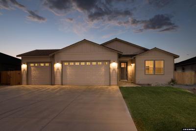 Dayton Single Family Home For Sale: 1159 Cheatgrass #Lot 210