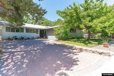 Reno Single Family Home New: 2445 Sutter Circle