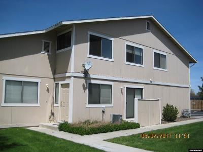 Gardnerville Multi Family Home Active/Pending-Call: 1184 Townhouse Circle