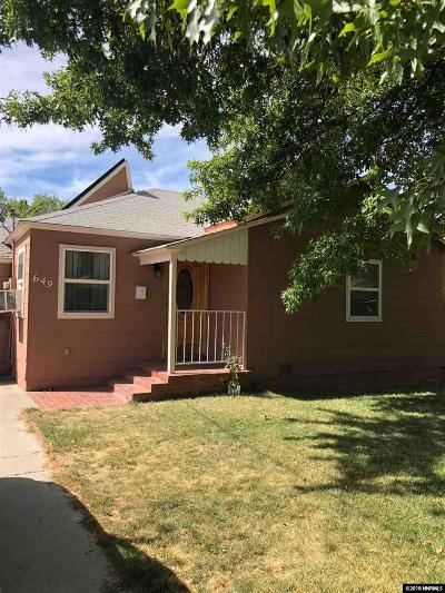 Reno, Sparks, Carson City, Gardnerville Single Family Home New: 649 Stanford Way
